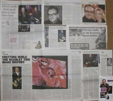 ELVIS COSTELLO clippings / cuttings UK newspapers PUNK
