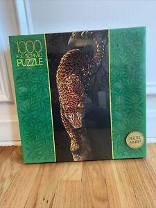 vintage 1991 Leopard F.X. Schmid Exclusiv 1000 pc  puzzle # 98257.0. New Sealed