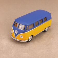 1962 Volkswagen Kombi Microbus 1:32 Scale 13cm Die-Cast Model Car Matt Yellow