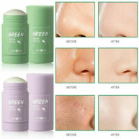 Green Tea Eggplant Purifying Clay Stick Mask Oil Control Mask Anti-Acne Solid