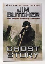 JIM BUTCHER Ghost Story 1st/1st HB/DJ Dresden Files #13