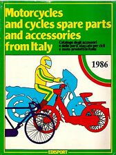 1986 Motorcycles Spare Parts and Accessories from ITALY Catalog EDISPORT Bikes