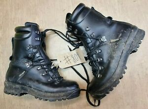 British Army Issue Goretex Pro/Para/Cadet ECW Vibram Sole Boots Size 8L UK #809