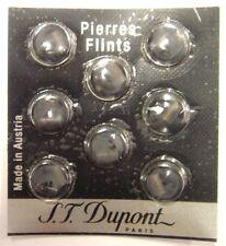 S.T. Dupont Lighter Grey Flints Pack of 8 for Ligne 1, Ligne 2 & Gatsby (600)