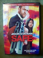 Safe (2012, DVD + Digital Copy + Ultraviolet) Jason Statham