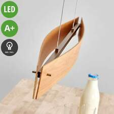 "Ceiling Light ""Malu"" Wood design Brown, Light wood dimmable Lamp (A+)"