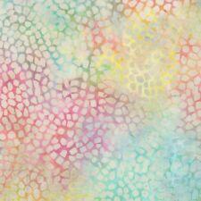 Wilmington Batavian Batik Mosaic Tiny Stones 22108-735 Pastel Multi Batik BTY