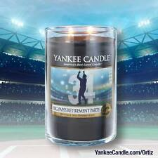 Yankee Candle - BIG PAPI'S RETIREMENT PARTY - 22 oz - LIMITED EDITION - RARE!!