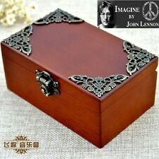 Vintage Rectangle jewelry Music Box : IMAGINE @ JOHN LENNON