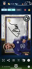 Topps Kick Timo Werner UCL Museum Collection Gold Auto Archival Iconic CC 124