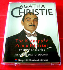 Agatha Christie Kidnapped Prime Minister Poirot 2-Tape Audio Suchet Western Star