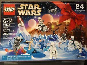 SET BOITE LEGO STAR WARS VAISSEAU  75146 CALENDRIER DE L'AVANT MAUL CALENDAR