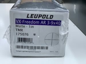 Leupold VX-Freedom AR 3-9x40 1in 175076 TMR Tri-Mil Reticle