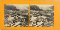 Suisse Grotte Da Tergicristallo Ghiacciaio Del Rodano, Foto - Vintage Analogica