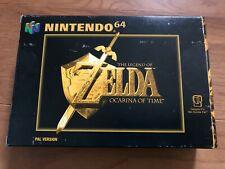 The Legend of Zelda: Ocarina Of Time N64 Complete in Box w/ Manual - PAL