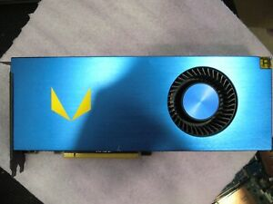QTY 1x AMD Radeon Vega Frontier Edition Graphics Card Not working