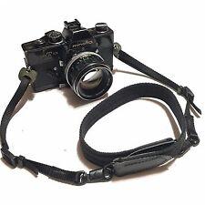 Vintage Minolta SRT 101 Black Body Film Camera w/ MC ROKKOR-PF 58mm 1.4 Lens