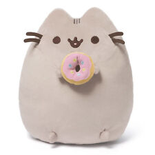 Pusheen The Cat With Donut GUND Cute Soft Plush Animal Toy 24cm Delivery*