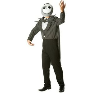 The Nightmare Before Christmas Jack Skellington Adult Costume: Size XL