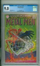 Metal Men #28 9.0 CGC Ross Andrew & Mike Espisito Cover & Art 1967