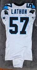 LAMAR LATHON Game Used Worn CAROLINA PANTHERS 9/13/1998 Jersey PHOTO MATCHED