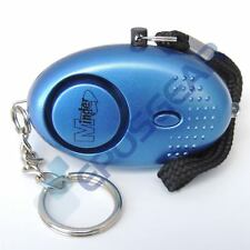 Blue 140db Minder Personal Panic Rape Attack Safety Keyring Alarm Torch