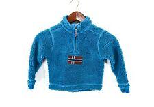 Napapijri Anorak Polar  Kids Boys Jacket Thermo Top Size 4 Years