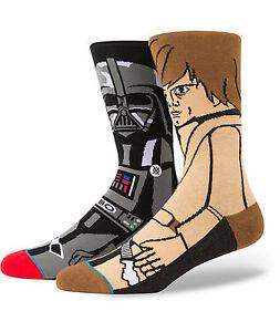 Star Wars STORM TROOPER Stormtrooper White Black Men Comfy Socks Uk 7-11 X