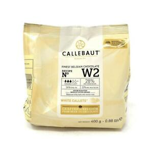 Belgian Callebaut White Chocolate Chips 400g Baking Ganache