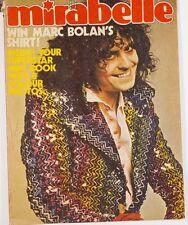 Marc Bolan Biba David Cassidy The Osmonds Marty Kristian Mirabelle UK Magazine