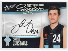 2017 Future Force Platinum Signature (FFGS18) Charlie CONSTABLE Geelong 027/50
