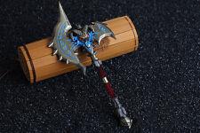 WOW Wrathful Gladiator's Sunderer Lich King Arthas Menethil Frostmourne 20cm