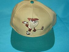 1995 TAZMANIAN DEVIL / DAFFY DUCK LOONEY TUNES GOLF SNAPBACK CAP HAT FRESH CAPS