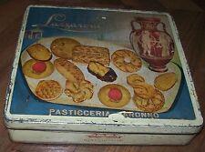 Vintage scatola latta lazzaroni pasticceria saronno