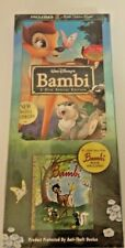 Disney's Bambi DVD 2005 2-Disc Special Edition with Little Golden Book Sealed