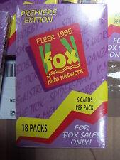 FLEER FOX KIDS NETWORK Trading Cards 1 Full Box by FLEER Premiere Edition