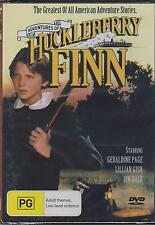 ADVENTURES OF HUCKLEBERRY FINN - Patrick Day, Jim Dale, Frederic Forrest -  DVD