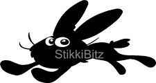 Cartoon Rabbit VW Camper Van Car Window Bike Sticker Decal Graphic SBRA1