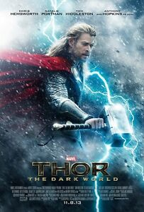 Thor movie poster - Chris Hemsworth poster - 11 x 17 inches (Thor)