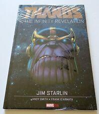 Thanos The Infinity Revelation Hardcover Marvel OGN Graphic Novel Comic Book