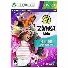 Zumba Kids USED SEALED (Microsoft Xbox 360, 2013)