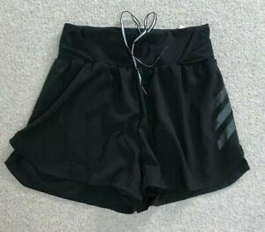 ADIDAS TERREX PARLEY agravic RUNNING shorts Size S 8 10 BLACK BNWT