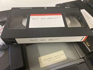 PANASONIC, FUJI, AMEX SVHS Pro Used FULL SIZE VHS TAPES QTY 12