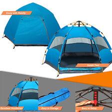 Pop Up Tent 1 Minute Setup Beach Camping Tent Sun Shelter UV-Anti Outdoor