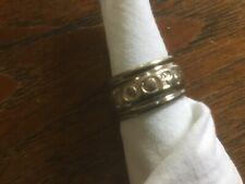 JOOP Ring PINKFARBENE Stein 925 Sterlingsilber Siegelring Größe 51