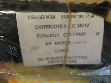Pair British Army overboots N,B.C MK1V in unopened issue packaging