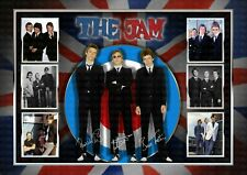 More details for the jam - paul weller -  signed original a4 photo print memorabilia