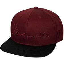 Title Boxing Muhammad Ali Flat Bill Adjustable Cap - Maroon