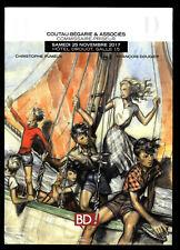 Katalog Verkauf den Auktion Comic Coutau-Begarie Joubert/Gotlib 11/2017