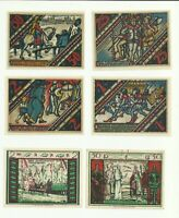 """Notgeld PADERBORN 1921 """"Christian the Mad""""  """"Historical Events""""  Lot Collection"""